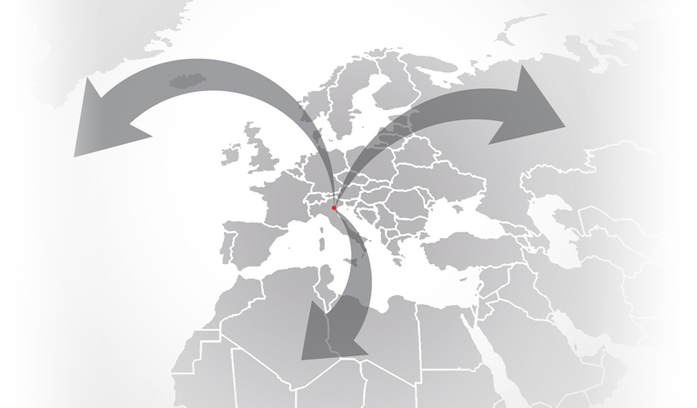 Export von MPM Italien nach MPM Deutschland und co.
